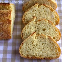 Bread Recipes, Real Food Recipes, Pizza E Pasta, Focaccia Pizza, My Favorite Food, Favorite Recipes, Whole Wheat Bread, Easy Bread, Cheesesteak