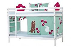 Køyeseng, 90 x 200 cm - Hoppekids Forest Seng 102526 Shop - Eurotoys - Barnemøbler online
