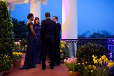 Behind the scenes of the lavish White House welcome for David and Samantha - Photo 1