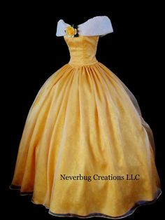 Dream Series Beauty and the Beast Costume by NeverbugCreations