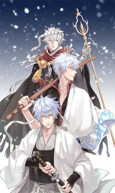 Gintama ~~ Three versions of Gintoki
