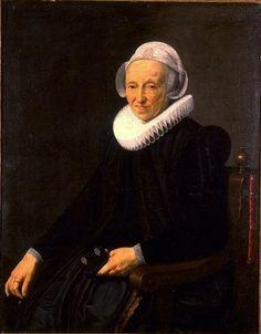 Portrait d'une femme âgée de 70 ans, 1624 attribué à Nicolaes Eliasz Pickenoy