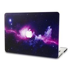 MacBook Pro 13 Shell Rubberized Laptop Protective Cover Space Galaxy Purple #MacBookPro13Case