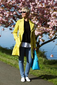Nice layered look with good use of color