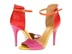 Nine West Acre Red Multi Leather - 6pm.com