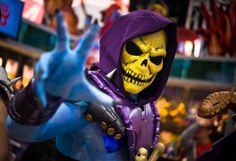 The Most Creative and Sensational Cosplay From Comic-Con 2013- Skeletor from He-Man