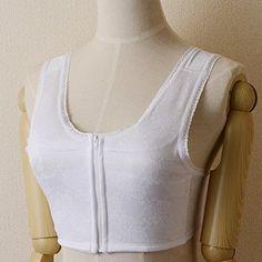【着付け用品】浴衣や暑い日にピッタリ 汗取り「和装ブラジャー」 フロントファスナー 体型補整【日本製】 - http://ladysfashion.click/items/120878