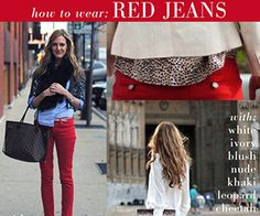 Colored denim is a must-have for spring and summer fashion - scratch that, it's a must-have for any season. While blue and black denim is classic, colored jeans are also really awesome, and will sp...