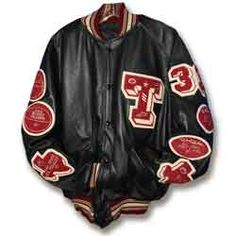 Customized Varsity Letterman Jackets Made by Delong, the oldest name in Varsity Award Letterman jackets! Customized Varsity Letterman Jackets Made by Delong, the oldest name in Varsity Award Letterman jackets! Custom Letterman Jacket, Varsity Jacket Outfit, Varsity Letterman Jackets, Old Names, Motorcycle Jacket, Awards, Old Things, Leather, Velvet
