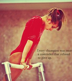 Every champion was once a contender that refused to give up. (fyeahusagym)