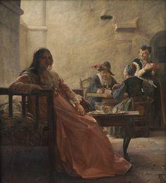 Kristian Zahrtmann: Leonora Christina i fængslet (1870)