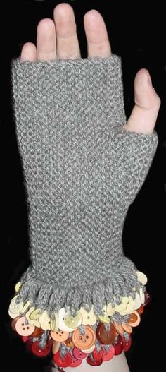 Quck, fun knit: One Hour Mitts | handmade gifts | Pinterest ...