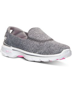 Skechers Women's GOwalk 3 - Reboot Walking Sneakers from Finish Line - Finish Line Athletic Shoes - Shoes - Macy's