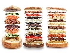 Insanely Awesome Shooter's-Style Sandwiches by seriouseats #Sandwich #Shooters