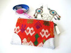 CocoNUTS earrings, Scmyk wallet and bracelet Craque Madame, via www.coconutstrepublic.com