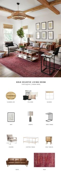 Room Redo | Bold Eclectic Living Room | Copy Cat Chic | Bloglovin'