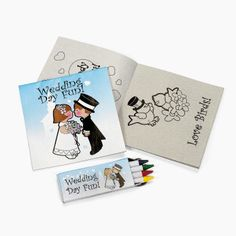 Perfect for the kiddos Children's Wedding Activity Sets - OrientalTrading.com