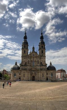 Cathedral of Fulda, Hessen, Germany
