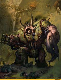 Warhammer 40000,warhammer40000, warhammer40k, warhammer 40k, ваха, сорокотысячник,фэндомы,Hellbrute,Chaos Space Marine,Chaos (Wh 40000),Death Guard,Akim Kaliberda