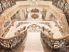 Luxury Antonovich Design is a luxury Interior Design Company in Dubai and interior architecture studio in Dubai. Complete Interior Design Services, Fit Out Services, Architecture. Palace Interior, Mansion Interior, Luxury Homes Interior, Luxury Home Decor, Best Interior, Home Interior Design, Room Interior, Luxury Staircase, Staircase Design