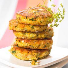 Découvrez la recette Croquettes de carottes sur cuisineactuelle.fr.