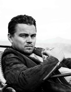 Leonardo DiCaprio, love him just a little sloppy.