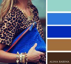 Alina Babina color palettes More