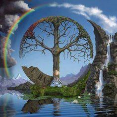 mientras entramos en el NO-tiempo, re-conocemos nuestro Arbol de la VIda en esfera de energía