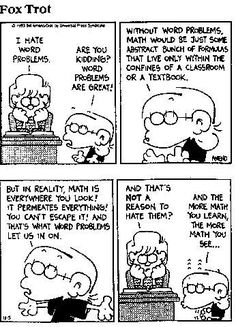 Honeycutt [licensed for non-commercial use only] / Math Comics and Quotes