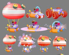 JELLY JAMM by SalBa Combe, via Behance