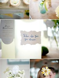 Photography Workshop + DIY Wedding Ideas  Read more - http://www.stylemepretty.com/2010/07/09/photography-workshop-diy-wedding-ideas/