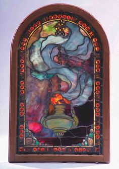 Just look at that beautiful glass! I want it. John LaFarge Stained Glass
