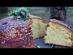 Η πιο αφράτη & εύκολη Βασιλόπιτα (σαν τσουρέκι) | Vasilopita | - YouTube Food Network Recipes, Gourmet Recipes, Cooking Recipes, The Kitchen Food Network, Pastry Design, Greek Sweets, New Year's Cake, Xmas Cookies, Greek Recipes