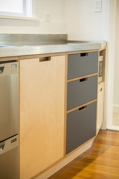Plywood kitchens and furniture custom made in New Zealand. We can design with you or work with drawings from your architect.