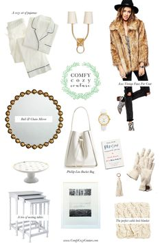 Comfy Cozy Couture: Winter White Favorites