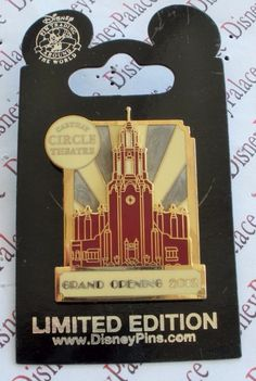 Disney California Adventure DCA Carthay Circle Theater Opening Day LE 2000 Pin
