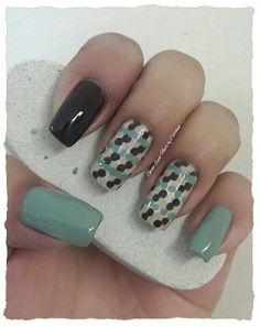 """CREAMY POLKA DOTS WITH OPI  **FOR DETAILS FOLLOW MY BLOG OR DO """"LIKE"""" TO MY FACEBOOK, would be great!! All comments are welcome!!! https://www.facebook.com/glamstylenailsbycarolina **"""