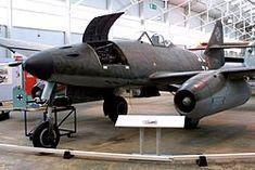 Me 262 A-1a Museo Aeroespacial de la Fuerza Aérea Real de Cosford, Gran Bretaña (2002).