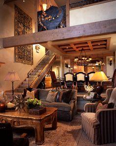 Rustic Colorado Great Room