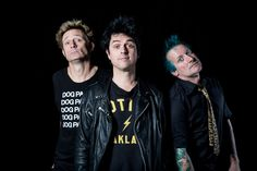 Green Day performs live in the Red Bull Sound Space at KROQ on October 19, 2016. (Photo by Chelsea Lauren for KROQ)