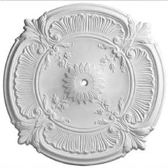 French Style Plaster Ceiling Rose