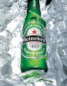 Heineken, uma cerveja posicionada num segmento premium, possibilitou o aumento do volume de vendas em relação ao ano anterior.