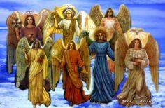 Historia De Los 7 Arcangeles | Bella Luz en tu camino: Los 7 Arcangeles.