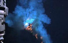 Mooi filmpje Vulkaanuitbarsting onder water van West Mata