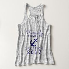 #name - #Vacation/Trip With Name Tank Top