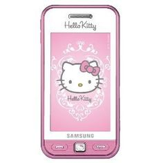Hello Kitty Limited Edition Samsung S5230 Unlocked GSM Cell Phone with 3MP Camera, MP3 Player, FM radio, Touch Screen, Bluetooth, HTML browser and MicroSD Slot--International (Pink)  .$110.99. http://www.amazon.com/gp/product/pinterest.com.vn-20/B00384CPV2 This phone is good for basic talk and text. There s no flash for the camera. I ended up giving it to my mom for mothers day since she likes Hello Kitty and only talks and rarely texts. It has a camera to take decent close up of grandkids…