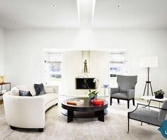 White Delights: Use the Natural Hue via Home Portfolio.