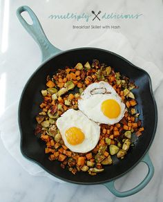 Breakfast Skillet Hash - Integritychiro