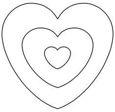 37 Mejores Imágenes De Molde De Corazon Christmas Hearts Paper
