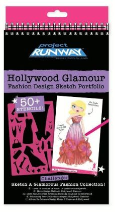 The Project Runway Hollywood Glamour Fashion Design Sketch Portfolio lets you create the perfect outfit for a fabulous event. Description from barnesandnoble.com. I searched for this on bing.com/images